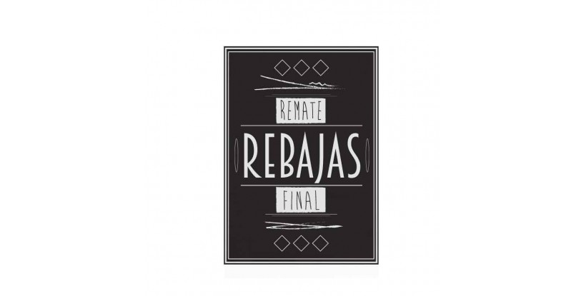 Cartel Remate Final Vintage