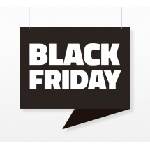 Cartel Colgante Black Friday